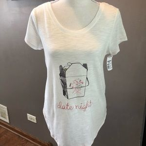 "NWT! Lauren Conrad ""Date Night"" T-shirt"